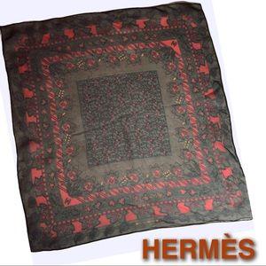 Hermès Vintage Sheer Silk Scarf